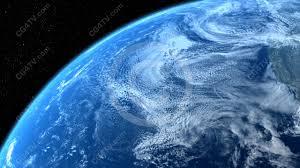 Royalty Free Animated Background Of Earth Slowly Rotating