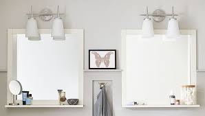 DIY Bathroom Mirror Shelf