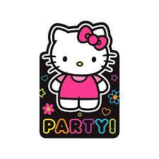 Hello Kitty Invitation Hello Kitty Tween 8 Pc Invitation Set