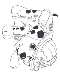 Small Picture Paw Patrol Coloring Pages Birthday Printable