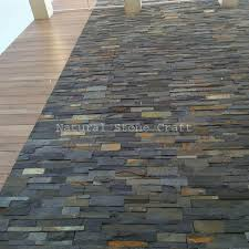 carbine black exterior wall tiles thickness 10 15 mm