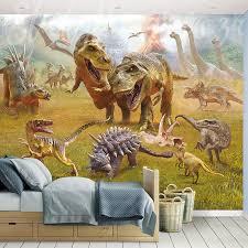 jurassic dinosaur land wallpaper mural