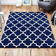 moroccan pattern rug grey arabesque wool blue