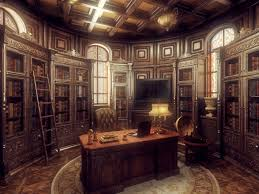 steampunk office. Steampunk Interior Design Ideas Click To Find Out More! #bedroom #home #homedesign #interior Office E
