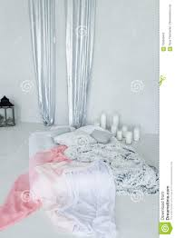 Decorative Bed Canopy In Calm And Relaxing Bedroom With A Lot Of ...