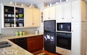 Chalk Paint Kitchen Painting Cabinets With Chalk Paint Sincerely Sara D