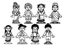 Small Picture Children Of The World Coloring Pages Apigramcom