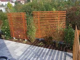 Trennwand Garten Holz M Belideen
