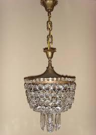 old crystal chandelier antieke kristallen zakkroonluchter