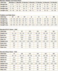 Clothing Size Conversion Chart China To Us 63 Most Popular Kids Clothing Conversion Chart