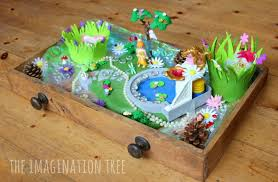 Small Picture Fairy Garden Small World in a Drawer The Imagination Tree