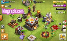 Clash Of Lights New Update Apk Download Coc Clash Of Lights Mod Apk V9 256 4 Unlimited Gems Gold