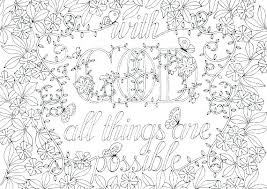 Coloring Pages Christian Calyxiadesigncom