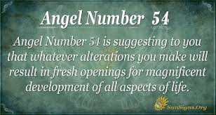 Angel Number 54 Meaning - Manifest Your ...