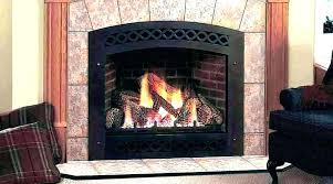 vent free lp gas fireplace log oakwood 24 in vent free propane gas fireplace logs with