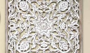white carved wall decor white carved wall decor lovely wood panel by pier 1 white
