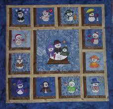 29 best Snowman quilt images on Pinterest   Snowman quilt ... & Snowmen throughout the Year Adamdwight.com