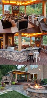 amazing outdoor kitchen designs. incredible outdoor kitchen with a bar and dining room area. amazing designs s