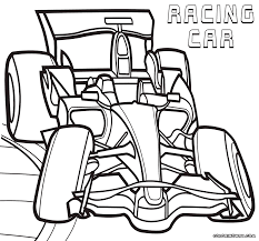 Racing car coloring pages | Coloring pages to download and print