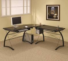 image of corner computer desks office