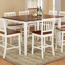 White Square Kitchen Table Shop Steve Silver Company Branson White Oak Square Dining Table At