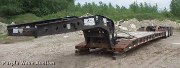2001 fontaine drop deck equipment trailer item dc4701 so full size in new window
