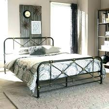 Rustic Metal Bed Frames Industrial Metal Bed Frame Industrial Modern ...