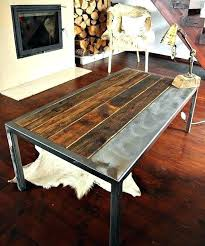 galvanized coffee table industrial steel coffee table no pine coffee urban mercantile galvanized steel industrial coffee galvanized coffee table