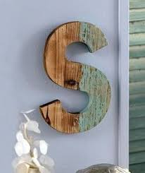 s monogram rustic country wood letter distressed wall art home decor on my thoughtful wall letter art with 1000 ideas about decorated wooden letters on pinterest wood