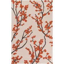 marigold ine poppy red 8 ft x 11 ft indoor area rug