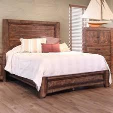 International Furniture Direct Porto King Low Profile Bed