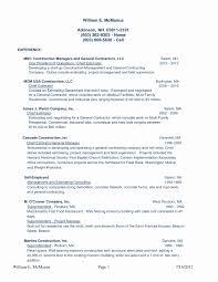 Construction Supervisor Resume Housekeeping Supervisor Resume Format Fresh 24 Lovely Construction 11