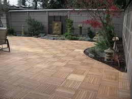 kontiki interlocking wood deck tiles