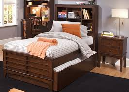 Chelsea Square Bookcase Bed 4 Piece Youth Bedroom Set In Burnished Tobacco  Finish By Liberty Furniture ...