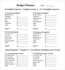 28 Images Of Printable Budget Planner Template | Leseriail.com