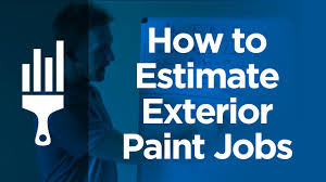How To Bid Or Estimate Exterior Painting Jobs - Exterior paint estimate