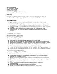 Publications On Resume Example Gallery Of Sample Resume Publication Editor Publications On Resume 17