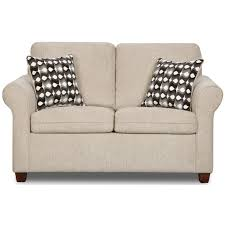 FURNITURE Charming Loveseat By Homestretch Furniture With Throw