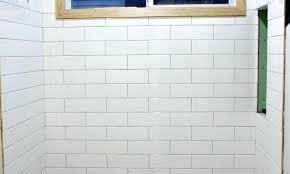 grout size how to choose the best subway tile sizes to get the elegant side