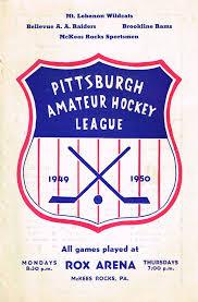 Amateur hockey leagues pittsburgh