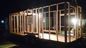 Small Picture Framing Sheathing Choo Choo Tiny House