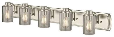 industrial seeded glass bath light