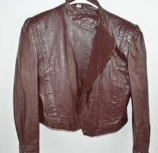 details about vintage wilson suede leather maroon brown leather jacket blazer size 12