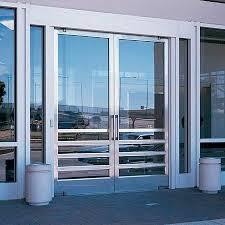 office entry doors. Entry Door / Swing Stainless Steel For Public Buildings - VISA OFFICE  BUILDING II METRO CENTER By HOK Office Doors .