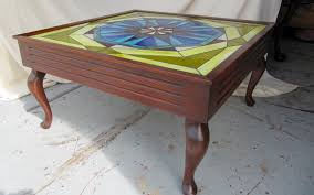 Stained Glass Coffee Table Images The Furniture Doctors