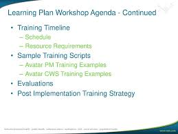 Learning Plan Workshop Ppt Download