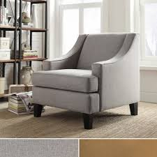 Appealing Inspire Q Furniture & Winslow Concave Arm Modern Accent Chair  Overstock Furniture Canada Apply To Your Home Improvement