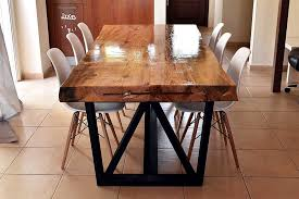 picture of diy dining table