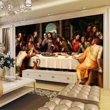 Beibehang Özel fotoğraf duvar kağıdı 3D Resimleri Avrupa Yağlıboya Son  Akşam Yemeği Büyük duvar tablosu TV arka plan duvar kağıdı duvar|papier  peint|3d backgroundphoto wallpaper murals - AliExpress