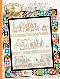 Crabapple Hill's <BR>Mystery of the Salem Witches - Barn Chick Quilts & Crabapple Hill's Mystery of the Salem Witches Adamdwight.com